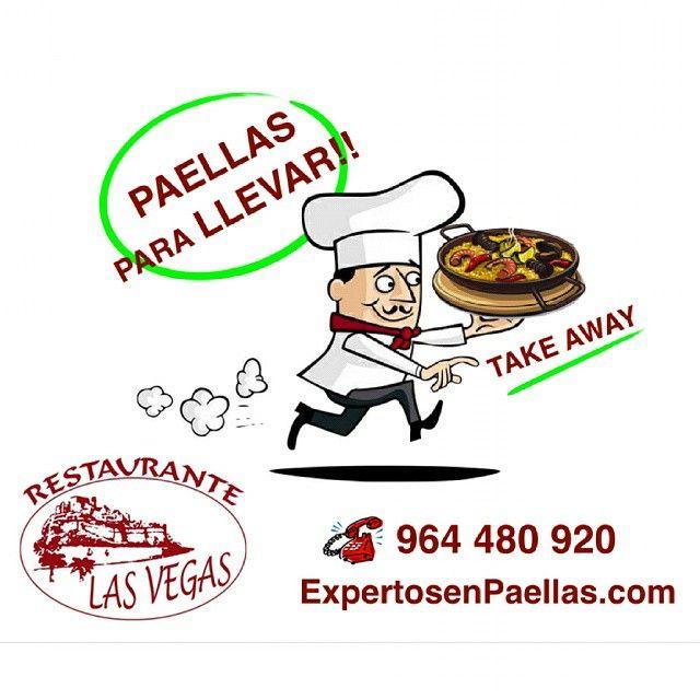 PAELLAS PARA LLEVAR EN PEÑISCOLA by RESTAURANTE LAS VEGAS PEÑISCOLA - Expertos en Paellas .com