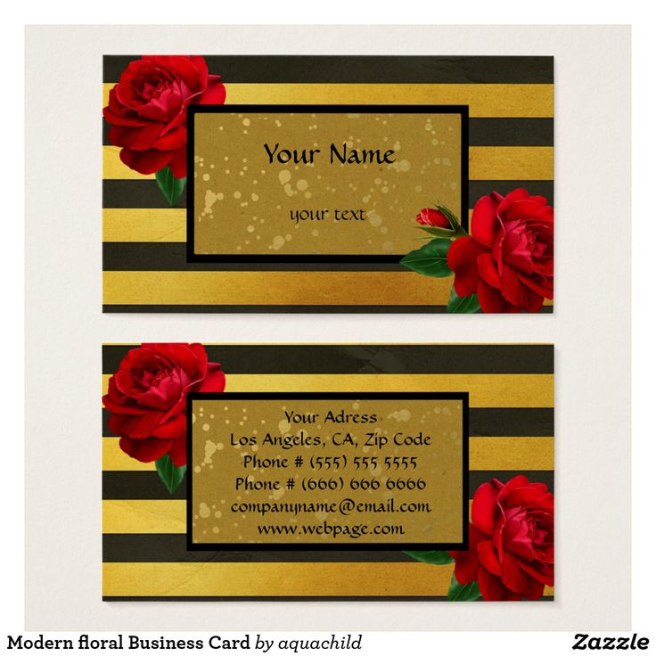 313 best customized personal business cards images on pinterest modern floral business card colourmoves