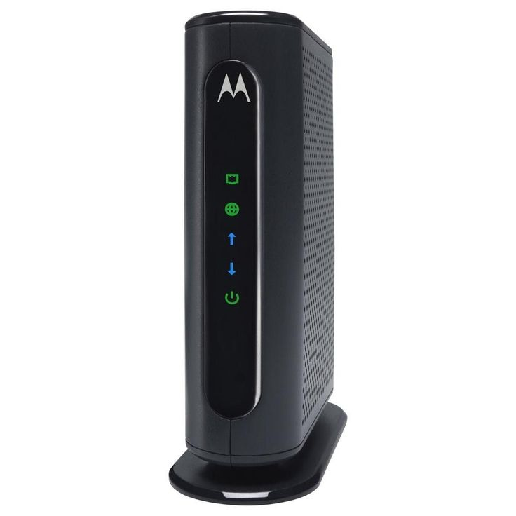 Motorola MB7220-10 8x4 Cable Modem, Model MB7220, 343 Mbps DOCSIS 3.0, Certified by Comcast XFINITY, Time Warner Cable, Cox, BrightHouse, and More - 1 x Network (RJ-45) - Gigabit Ethernet - Desktop