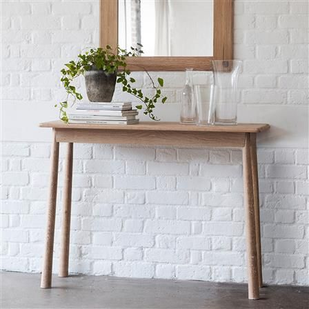 Wycombe Console Table, Natural | ACHICA