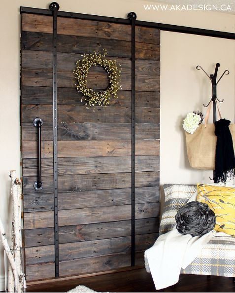 sliding barn door, diy, home decor, how to, living room ideas, repurposing upcycling