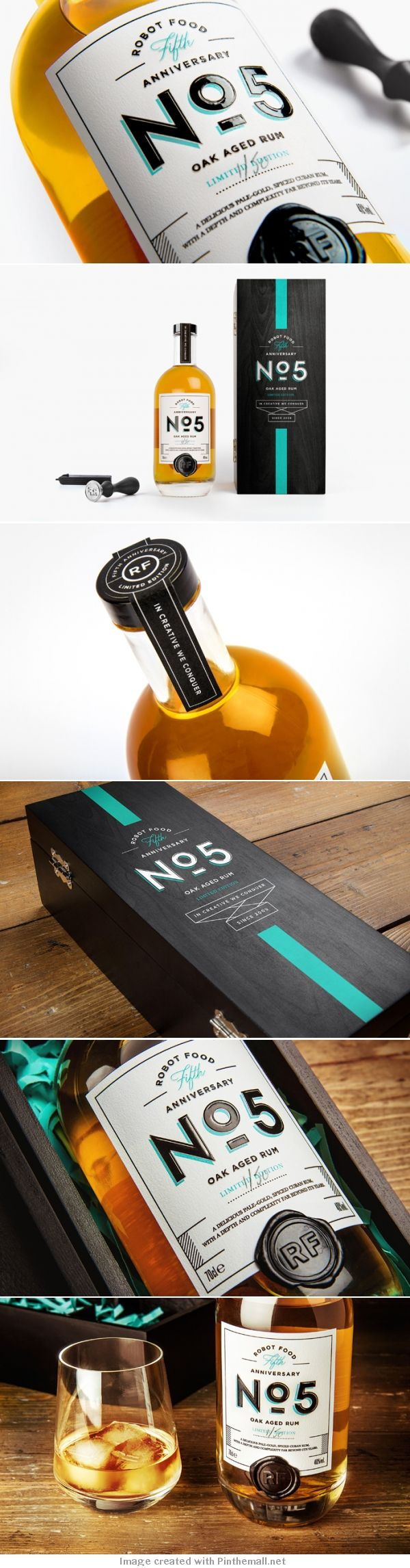 Robot Foods Fifth Anniversary Oak Aged Rum Limited Edition