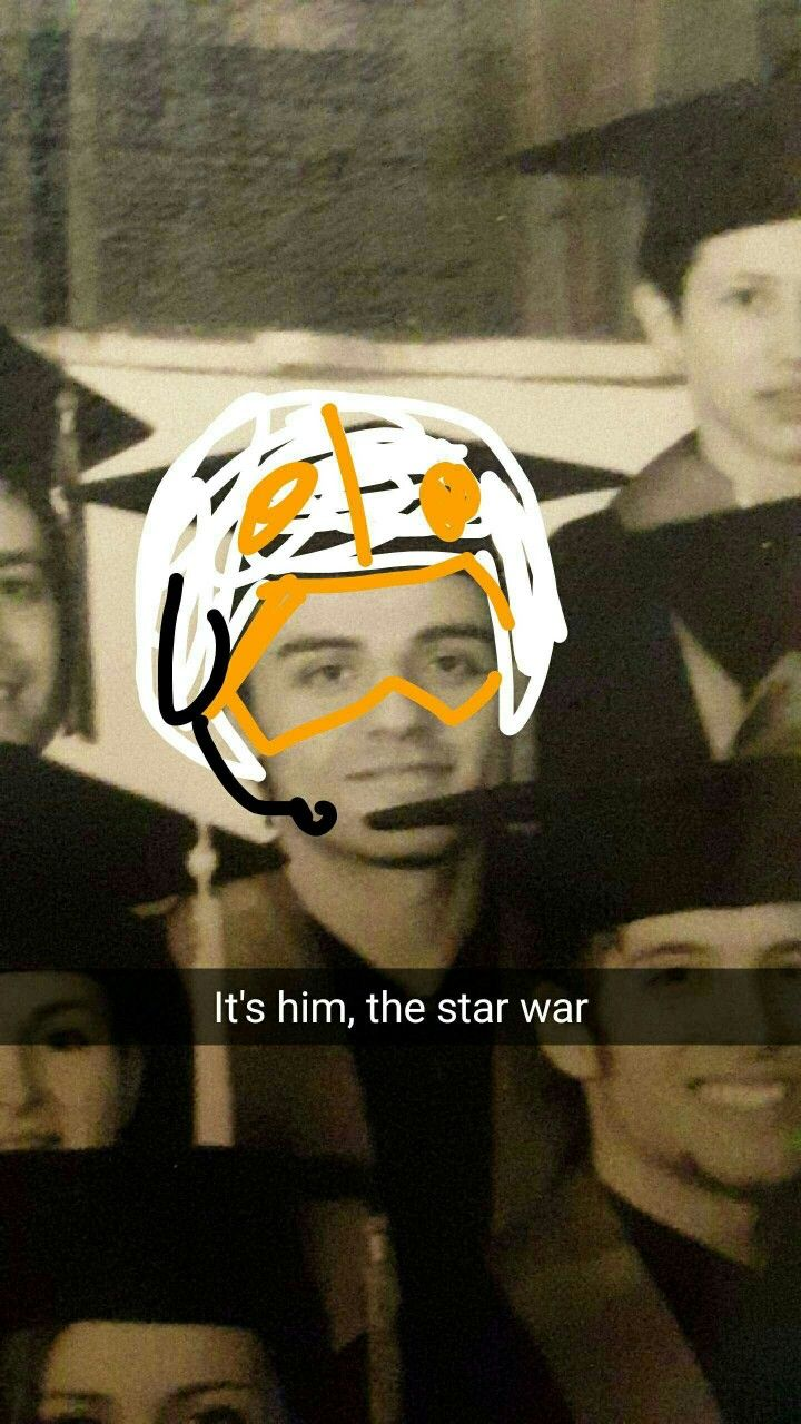 """""""A friend of mine went to college with Oscar Isaac"""" aka Poe Dameron from Star Wars"""