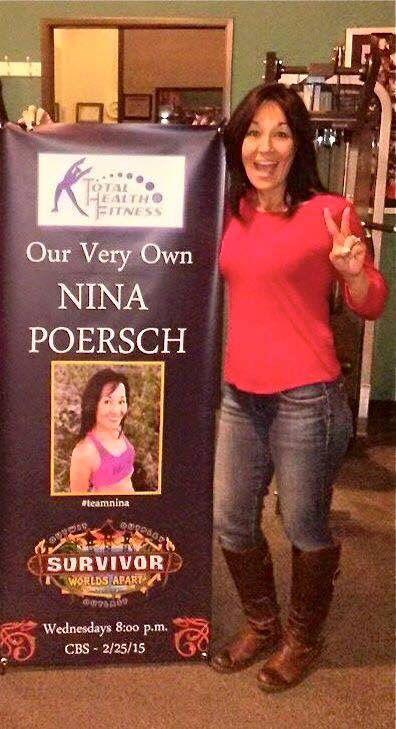 Nina Poersch Survivor contestant and Plexus lover!