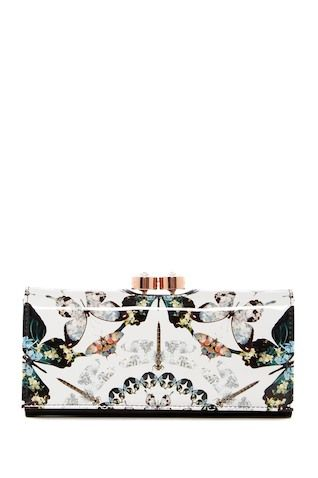 0fe600fbc6c Ted Baker London | Augusti Butterfly Crystal Framed Matinee Wallet ...