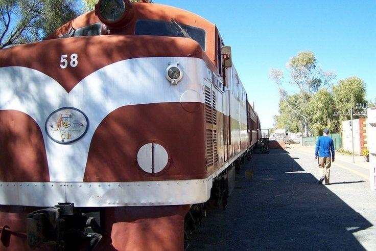 Muzeul Feroviar Old Ghan- Alice Springs, Australia