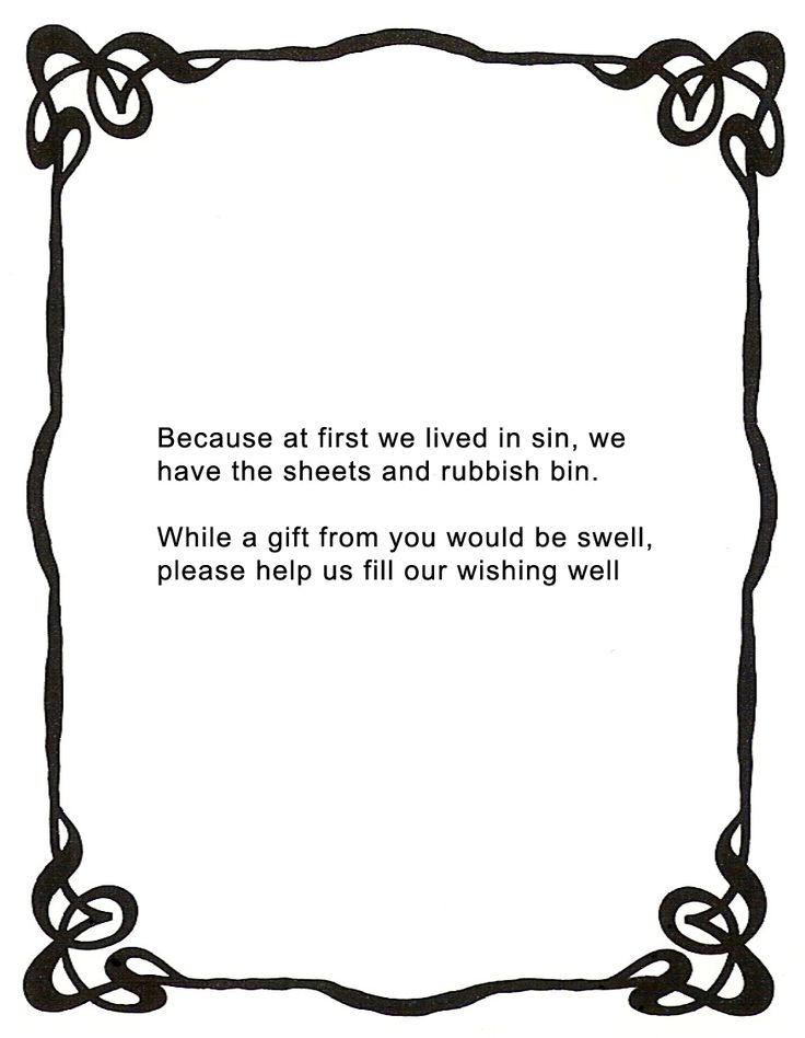 The 25+ best Monetary gift wording wedding ideas on Pinterest ...