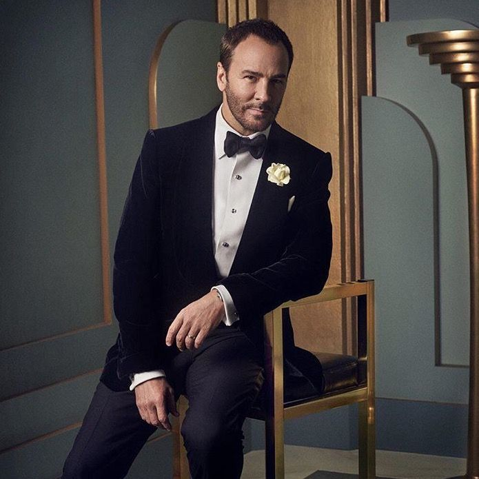 tomford:    Tom Ford in the 2017 Vanity Fair Oscar Party portrait studio.