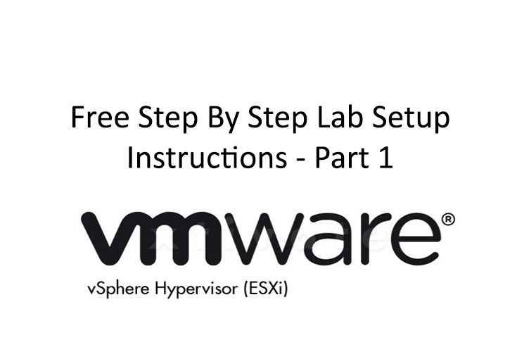 In this series of article we will setup Vmware esxi free home lab and will install SCCM (System Center Configuration Manager). At the end we will also deploy a test package… probably Adobe Reader XI.