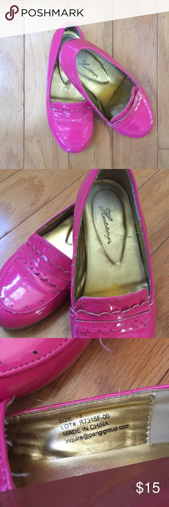 Hartstrings Girls Loafer GUC; Hot Pink and ready for your girl!!! Hartstrings Shoes Dress Shoes