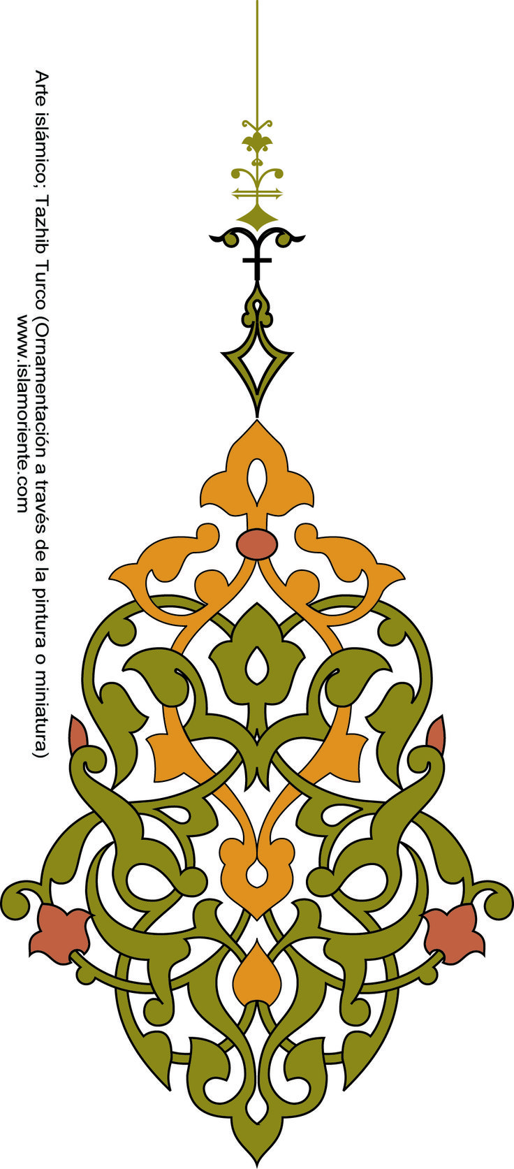 Arte islámico – Tazhib Turco (Ornamentación a través de la pintura o miniatura) | Galería de Arte Islámico y Fotografía