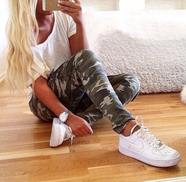 Nike Air Force 1 Fille Colorant Tumblr