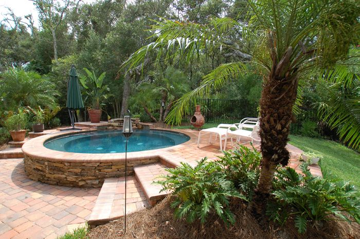 269 best small inground pool spa ideas images on pinterest for Pool and spa contractors