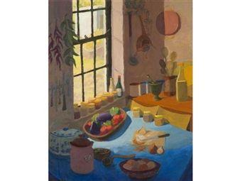 Kitchen Interior By Marjorie Wallace