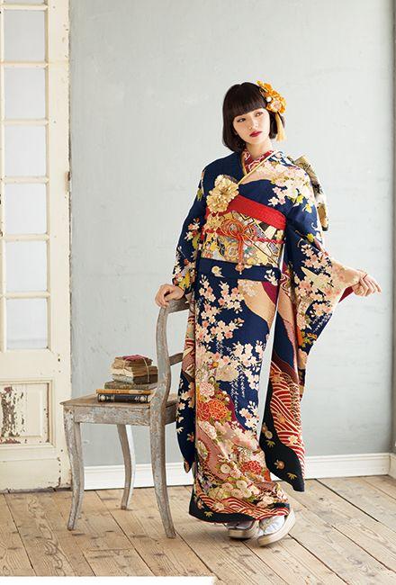 NO.1651 正絹 京友禅|成人式の振袖販売、振袖レンタルの京都きもの友禅