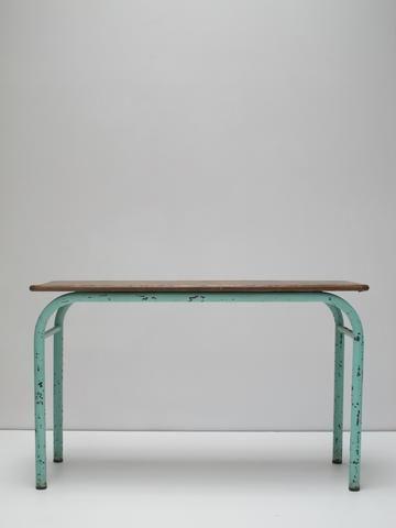 Table écolier ancienne 1960
