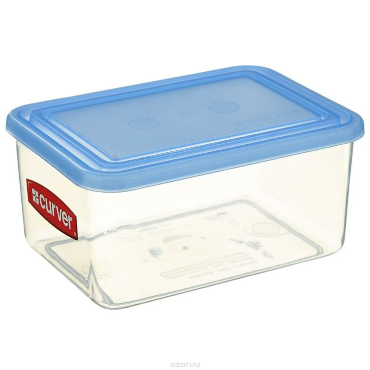 Емкость для заморозки и СВЧ Curver, цвет: голубой, 1,2 л