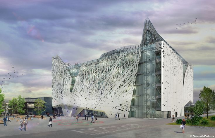 The Italian Pavilion at Expo 2015.  © Nemesi&Partners