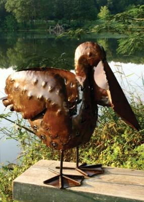 Recycled pelican.