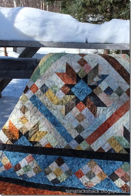 20 best smokey river quilt images on Pinterest | Big block quilts ... : smokey river quilt kit - Adamdwight.com