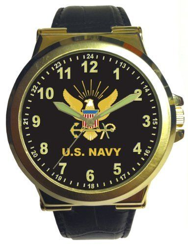 US Navy Retro Oversized Men's Watch by Military Watches. $55.00