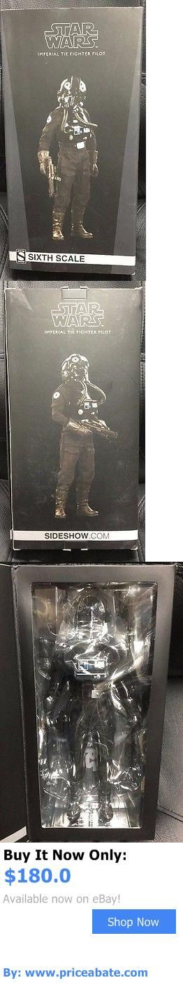 Toys And Games: Sideshow Star Wars Imperial Tie Fighter Pilot 1/6 Scale Figure New BUY IT NOW ONLY: $180.0 #priceabateToysAndGames OR #priceabate