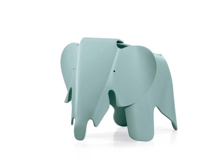 Elephant stools by Eames, perfect furniture for a children's room available at Heal's