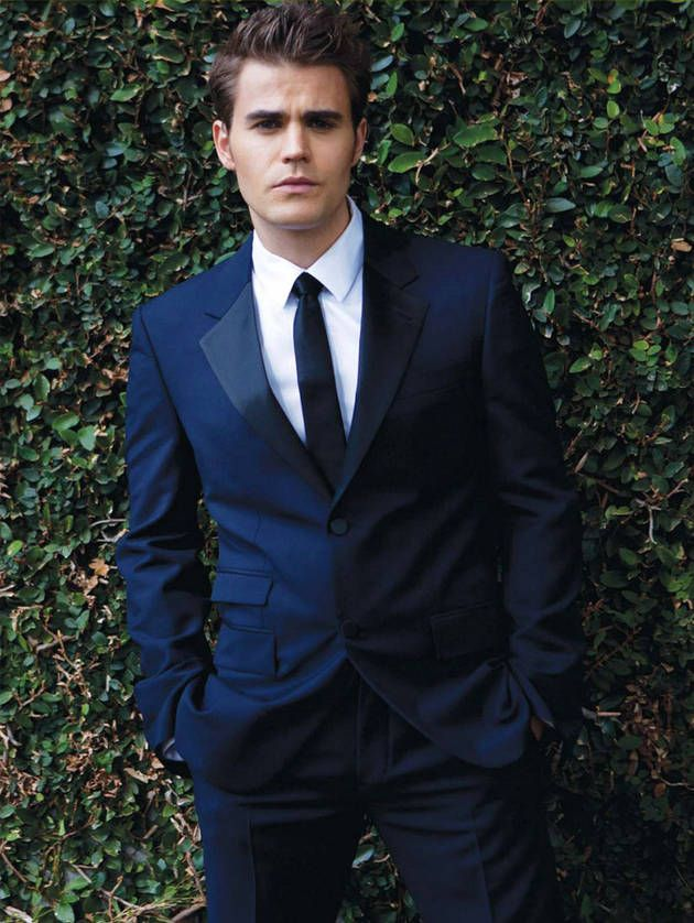 Paul Wesley in August Man, January 2013: #6