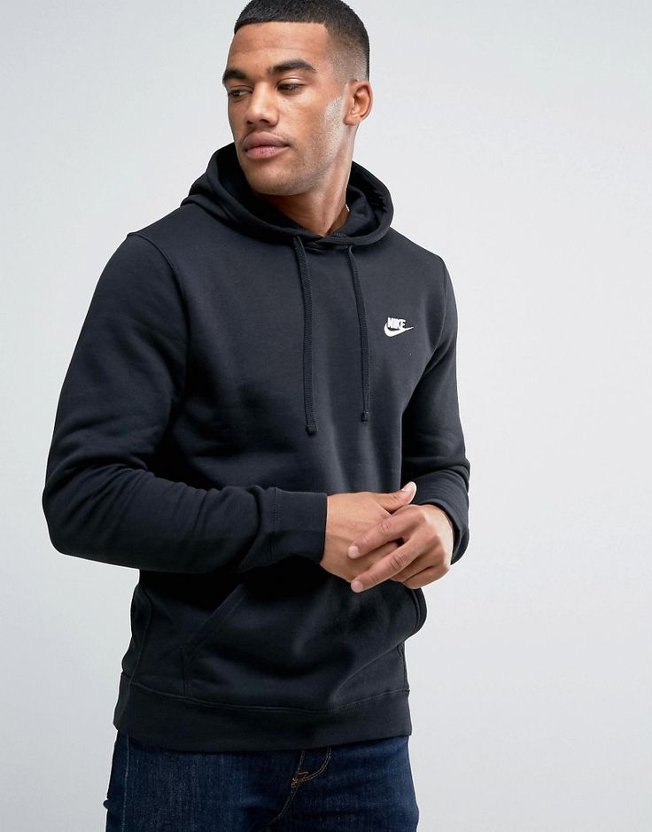 Get this Nike's hooded sweatshirt now! Click for more details. Worldwide shipping. Nike Pullover Hoodie With Swoosh Logo In Black 804346-010 - Black: Hoodie by Nike, Soft-touch sweat, Drawstring hood, Over-the-head style, Embroidered logo, Pouch pocket, Ribbed trims, Regular fit - true to size, Machine wash, 80% Cotton, 20% Polyester, Our model wears a size Medium and is 5'10�/178 cm tall, Supplier code: 804346-010. Back in 1971 Blue Ribbons Sports introduced the concept of the Greek…