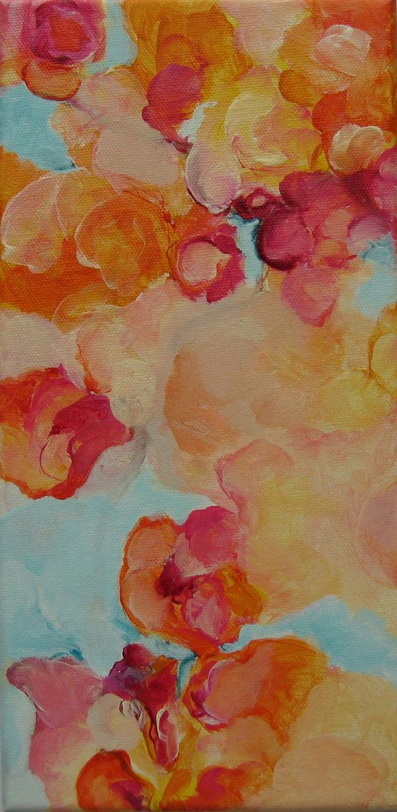 Blossom abstract #abstract #etsy  $70