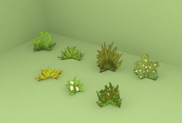 lowpoly flower garden - Google Search