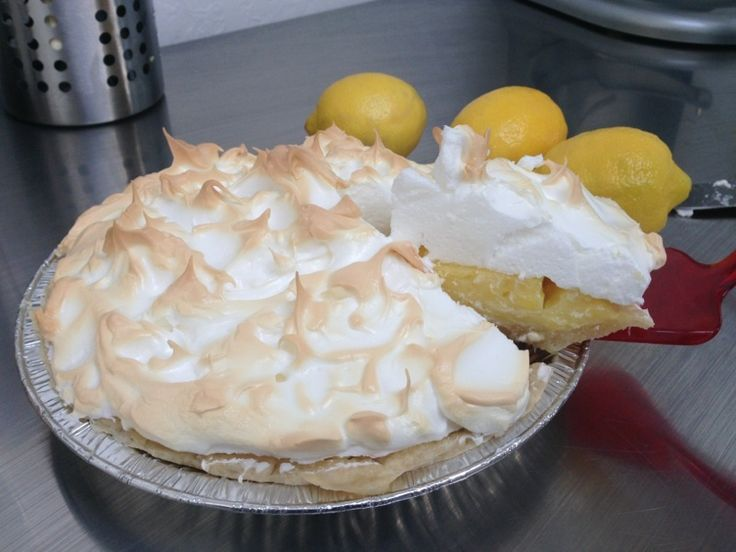 New! Lemon Meringue Pies