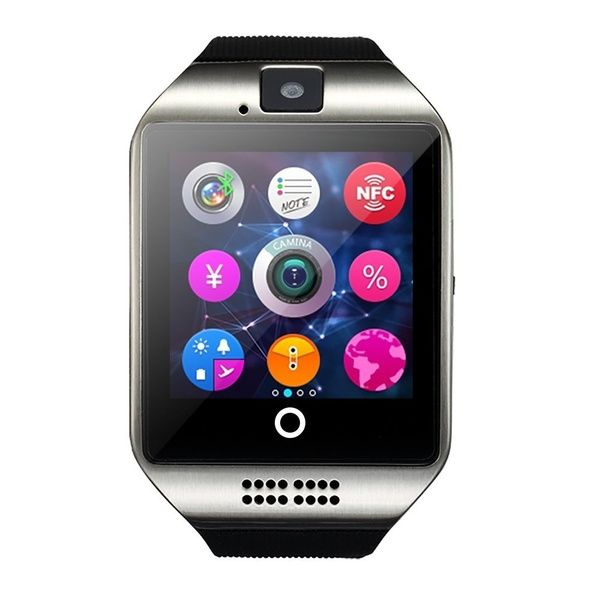 2016 Nfc Bluetooth Smartwatch With Camera Tf Sim Card Slot For Ios Partial Functions Iphone 6 6 6s Plus 5c 5s 5 Android Full Functions Samsung Galaxy S3 S4 S5 N Smart Watch Wearable Device Ios Phone