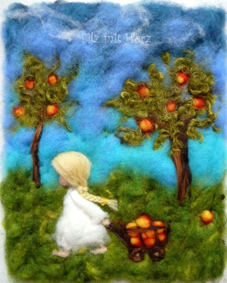 Apple Harvest by Felt With Heart