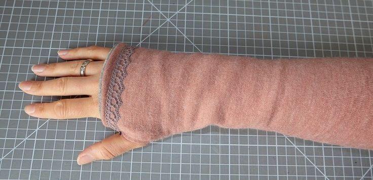 DIY: Armstulpen mit Daumenloch nähen