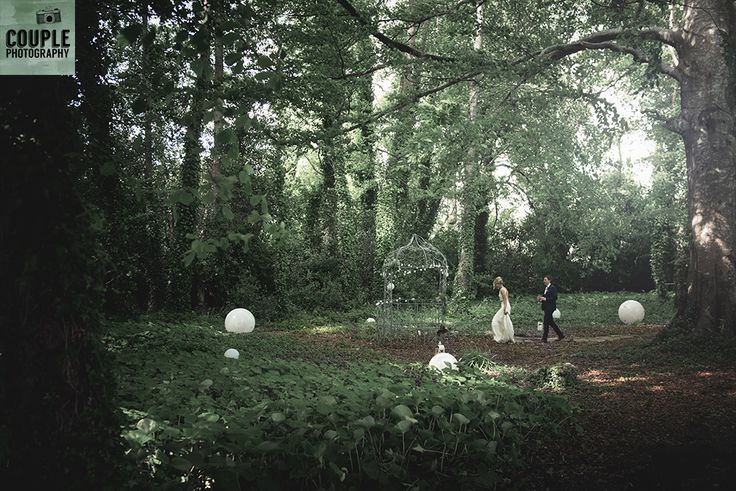The beautiful woods on the way to Summerhill House. Wedding at Summerhill House Hotel by Couple Photography.