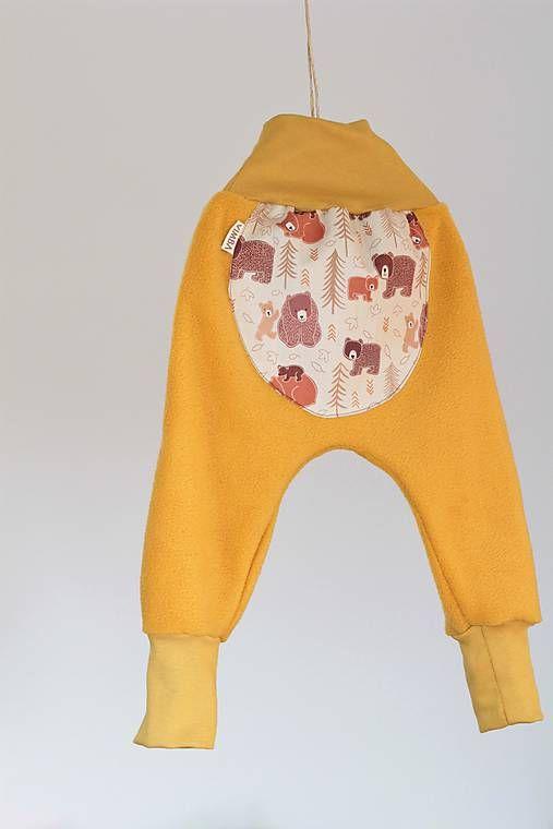 Flísové nohavice