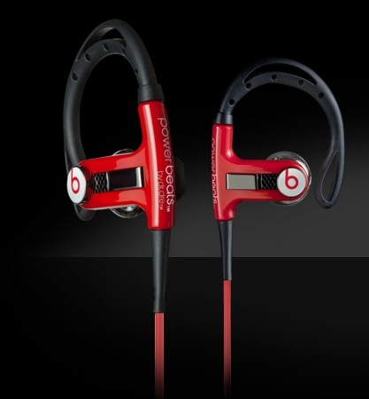 Monster Power Beats By Dre Red
