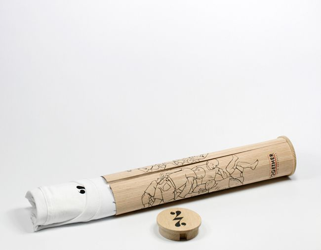 Packaging of the World: Creative Package Design Archive and Gallery: tee in a tube