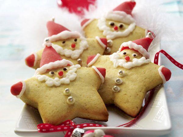 Einfach nur drollig. Und gleich eine Idee für den kommenden zweiten Advent bzw. Nikolaus. Honigkuchen-Nikoläuse. Zum Rezept >>>