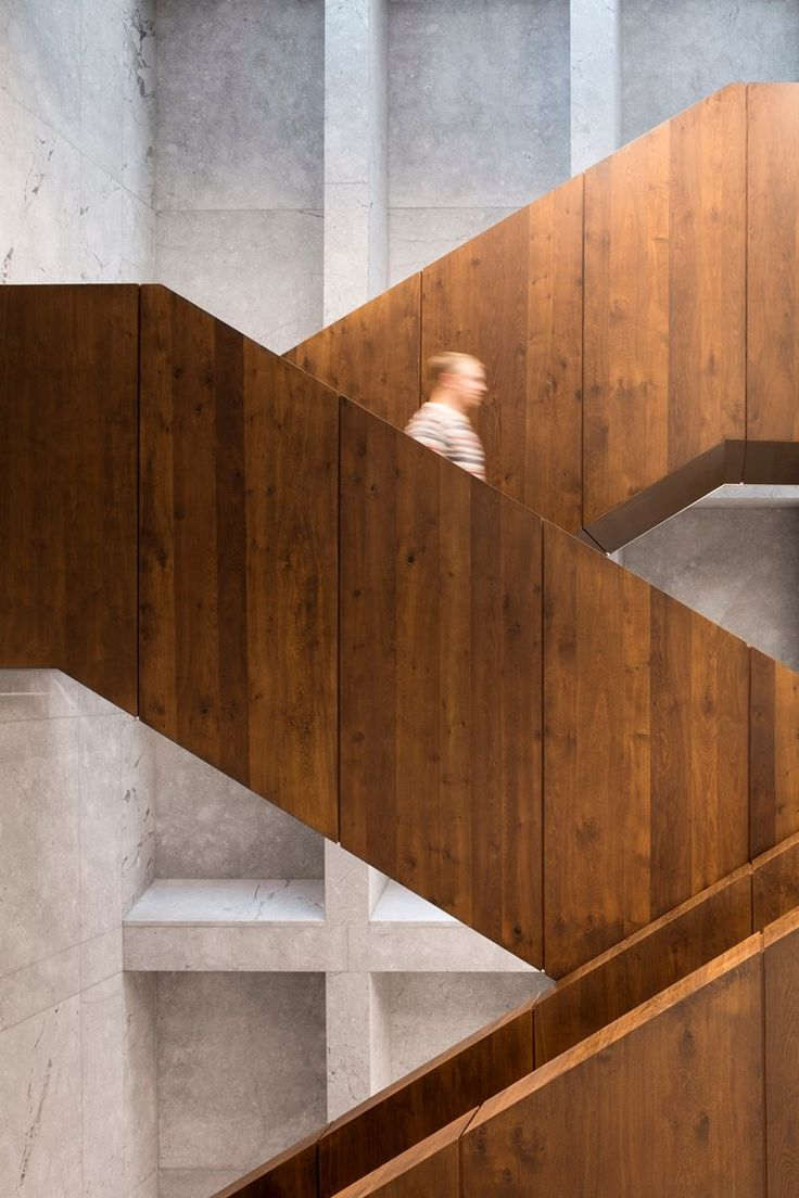 The new #office complex for Bestseller and designed by @CF_Moller is intended as a showroom for Bestseller's design-driven corporate identity. #headquarter #staircase