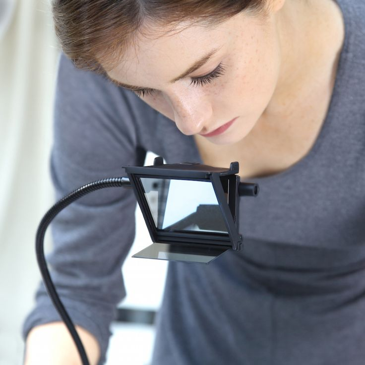 """Pablo Garciarecently created an optical device that allows the user to trace images in real life. The artist and SAIC professor's invention called, """"NeoLucida XL,"""" --is a contemporary and portable take on the two century oldCamera Lucida, an instrument which reflects rays of light usinga prism to allow objects in real life to be traced. The NeoLucidaXL, an updated version of the first iteration, features a large mirror and glass which makes it easier to draw the """"ghost i..."""