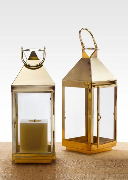 Best gold lanterns ideas on pinterest lantern table