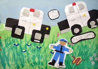 Community Helpers Art Projects