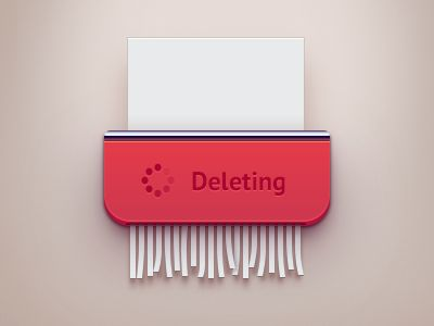 Just drag document to shredder for delete | #ui