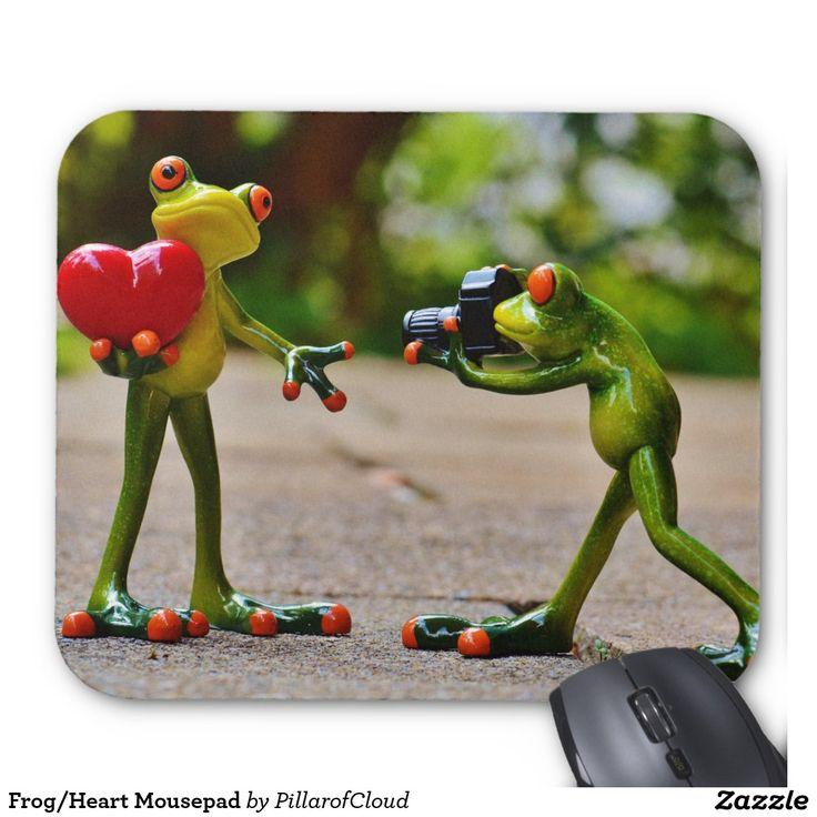 Frog/Heart Mousepad