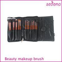13pcs cosmética profesional cepillo del maquillaje kit de pinceles de maquillaje , venta caliente mini viaje Maquillaje juego de brochas