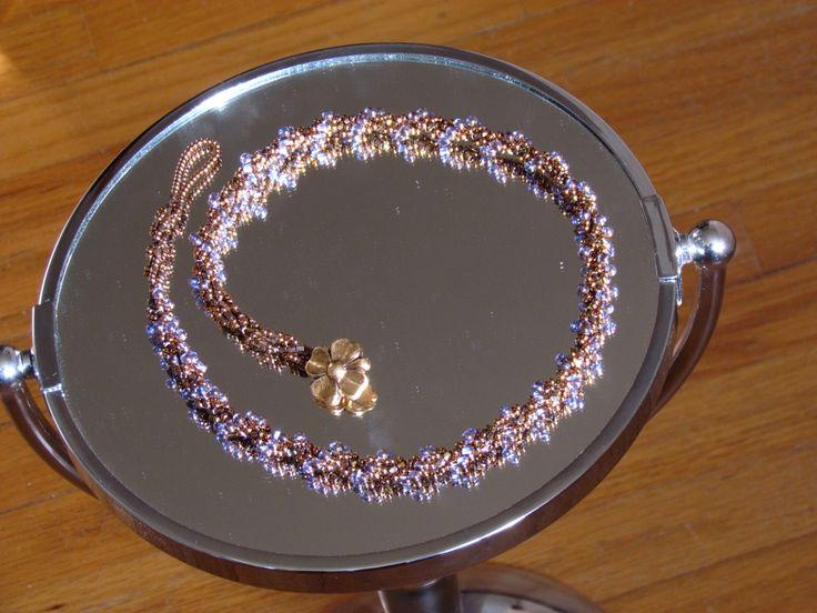 Spiral necklace - mine