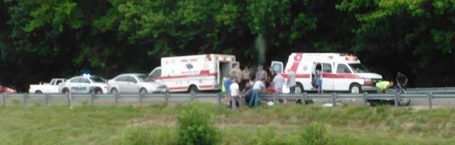 Foto van 'geest die het lichaam van verongelukte motorrijder verlaat' gaat viraal - http://www.ninefornews.nl/foto-van-geest-die-het-lichaam-van-verongelukte-motorrijder-verlaat-gaat-viraal/