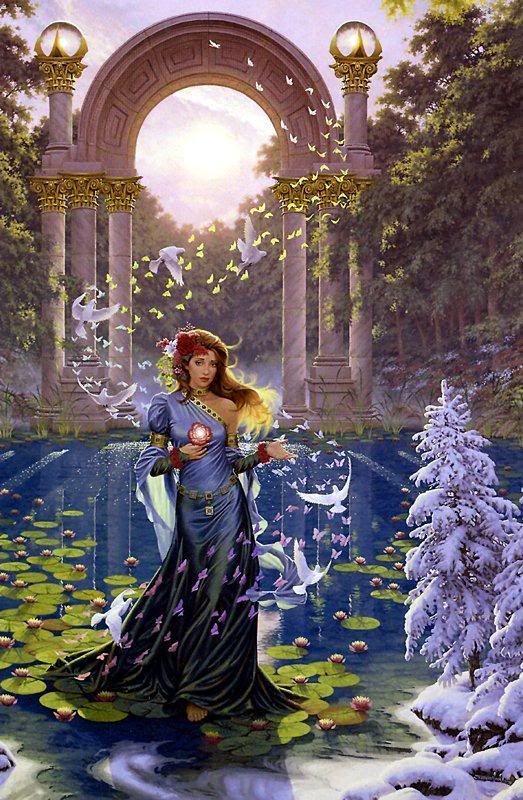 Persephone. In Greek mythology, Persephone (pronunciation: /pərˈsɛfəniː…